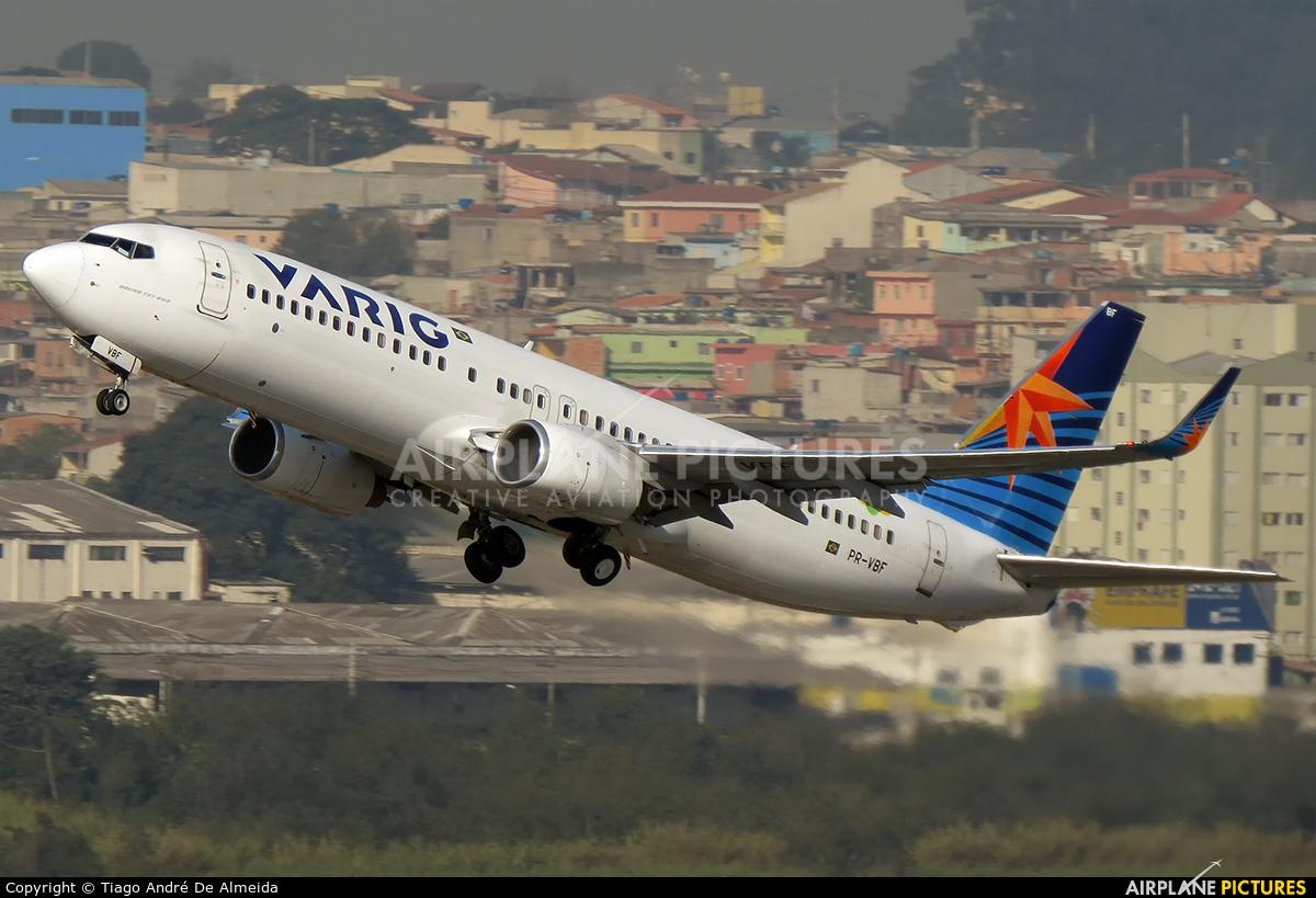VARIG PR-VBF aircraft at São Paulo - Guarulhos