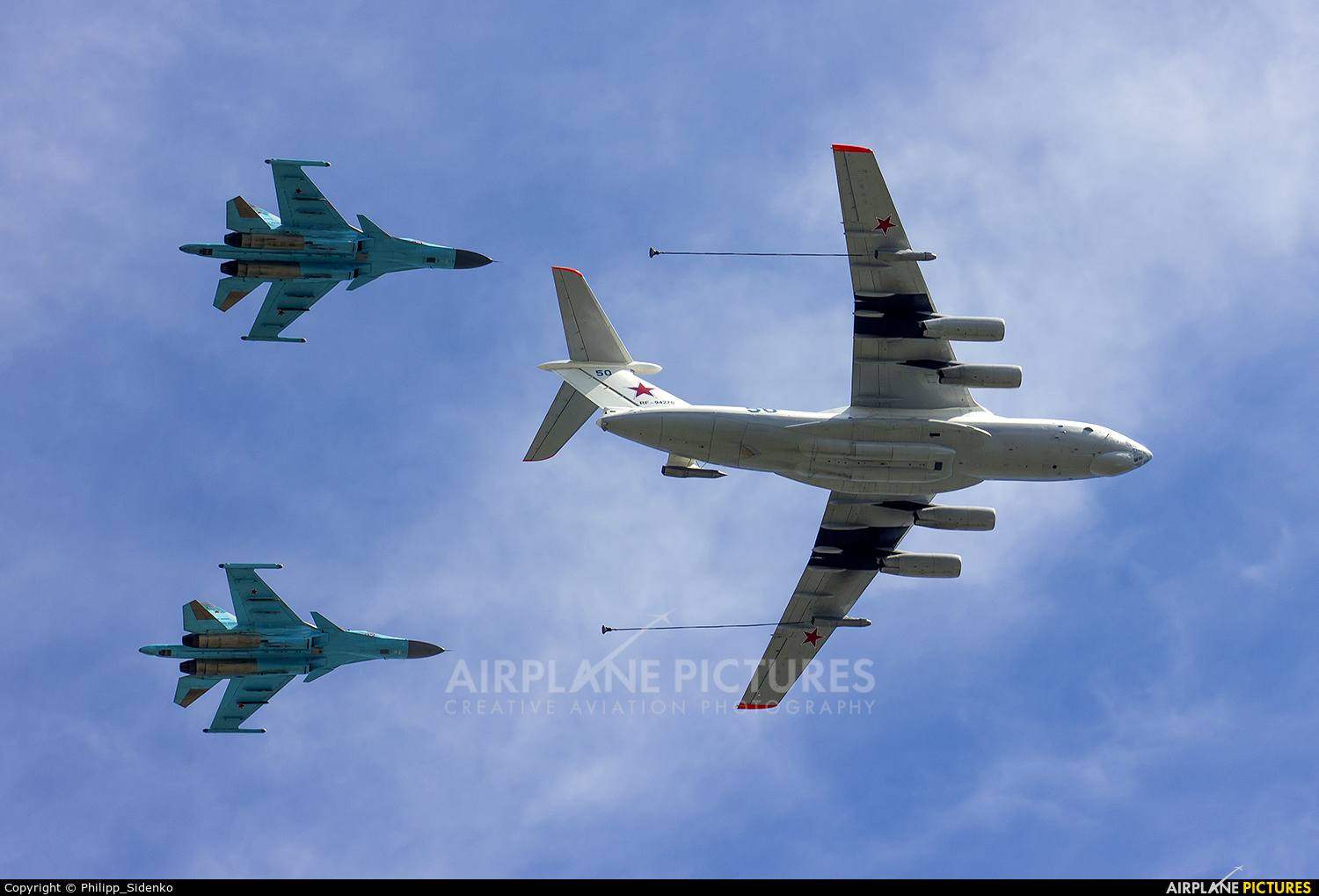 Russia - Air Force - aircraft at Off Airport - Russia
