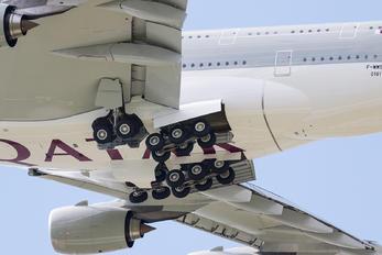 F-WWSC - Qatar Airways Airbus A380