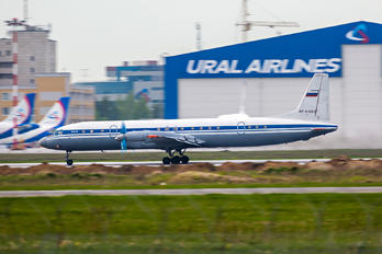 RF-91821 - Russia - Air Force Ilyushin Il-18 (all models)