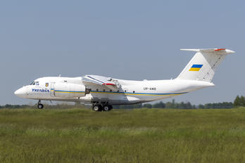 UR-AWB - Ukraine - Government Antonov An-74