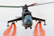 7357 - Czech - Air Force Mil Mi-24V aircraft