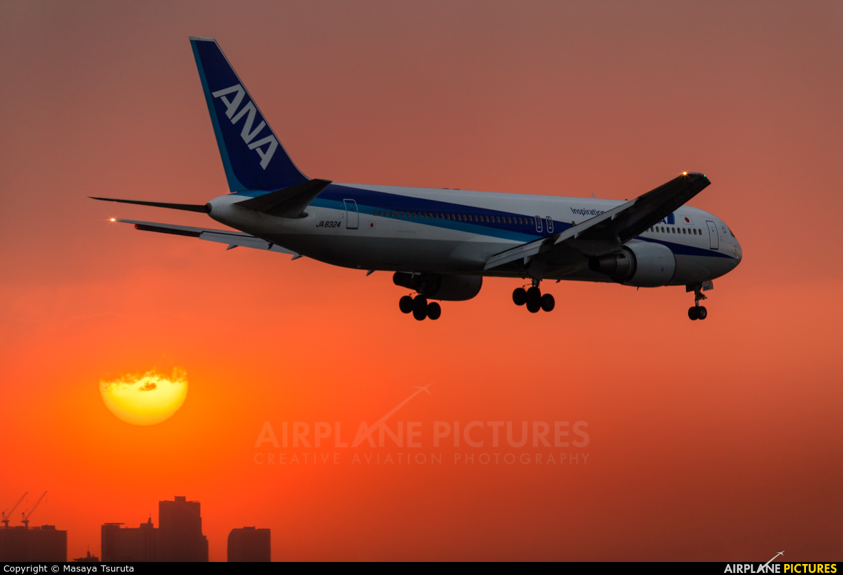 ANA - All Nippon Airways JA8324 aircraft at Tokyo - Haneda Intl