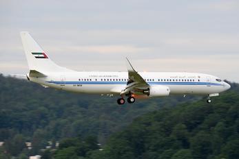 A6-MRM - United Arab Emirates - Government Boeing 737-800 BBJ