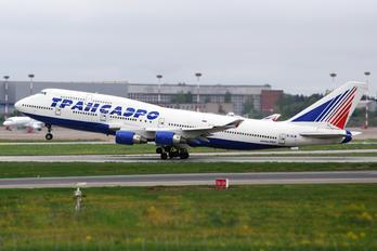 EI-XLM - Transaero Airlines Boeing 747-400
