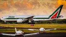 EI-DBM - Alitalia Boeing 777-200ER aircraft
