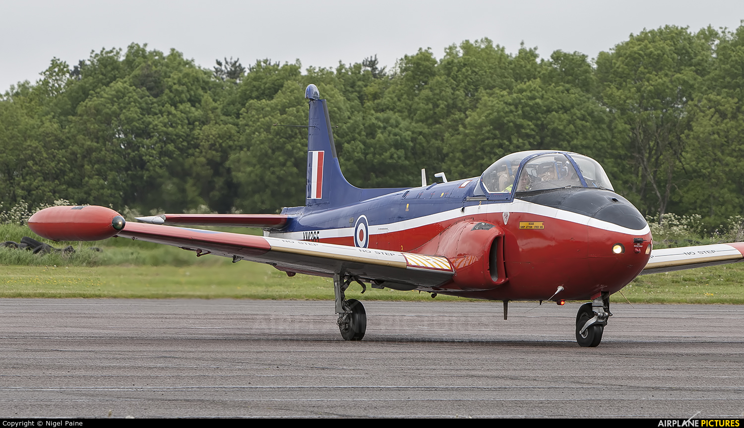 Private XM365 aircraft at Bruntingthorpe