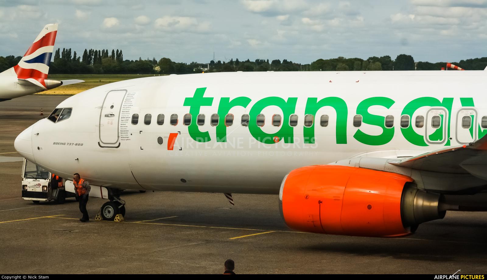 Transavia PH-GUB aircraft at Amsterdam - Schiphol