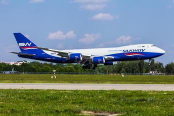 VQ-BVC - Silk Way Airlines Boeing 747-8F