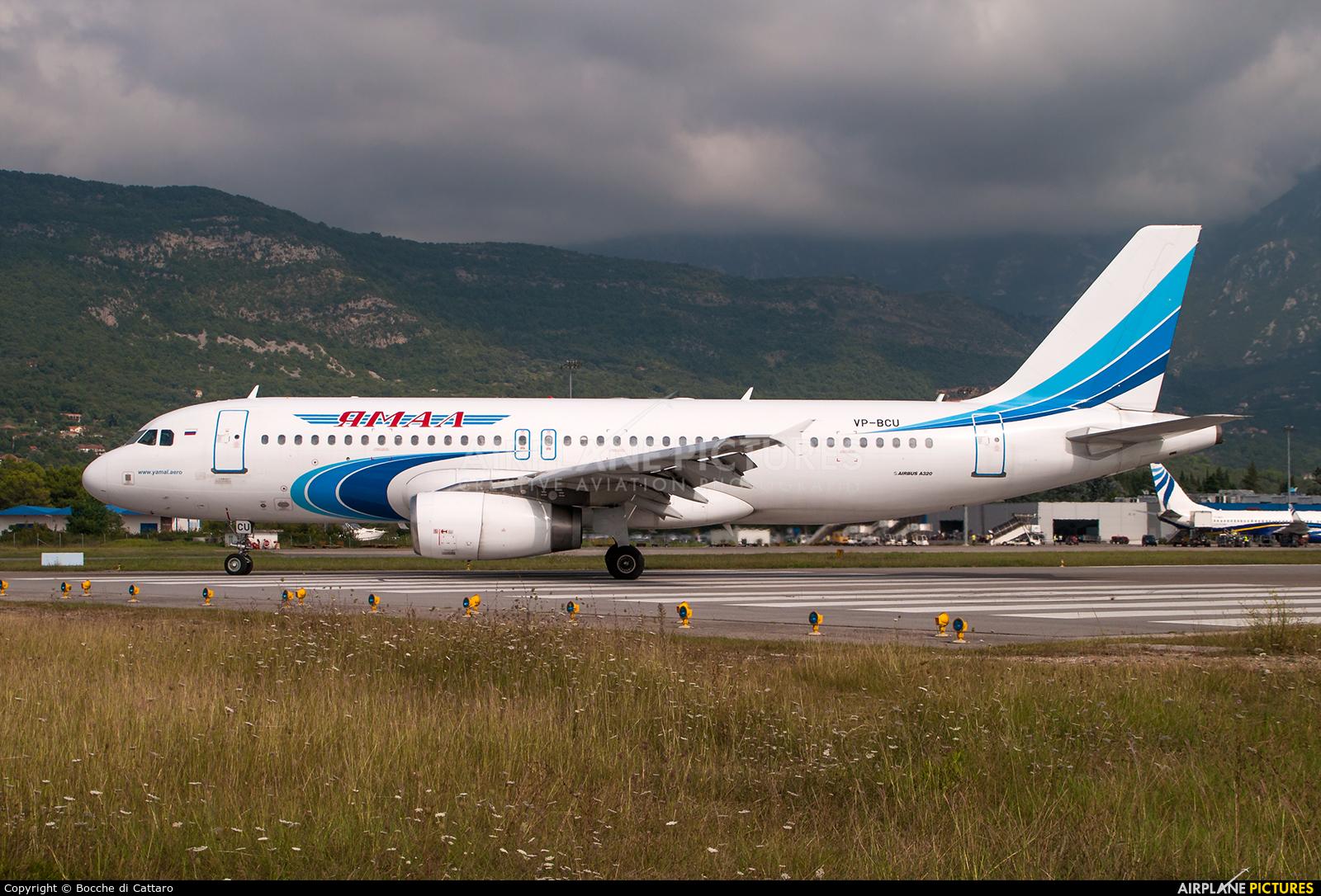 Yamal Airlines VP-BCU aircraft at Tivat