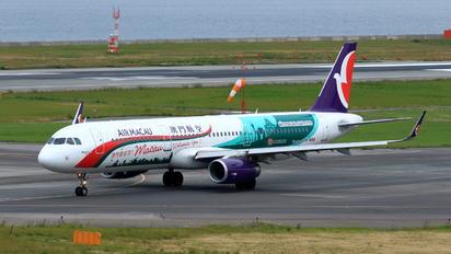 B-MBM - Air Macau Airbus A321