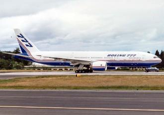 N7771 - Boeing Company Boeing 777-200