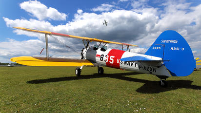 F-AZXN - France's Flying Warbirds Boeing Stearman, Kaydet (all models)
