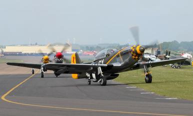 N251RJ - The Fighter Collection North American P-51D Mustang