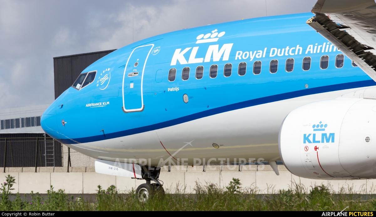 KLM PH-BXW aircraft at Amsterdam - Schiphol
