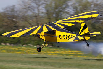 G-BPCF - Private Piper J3 Cub
