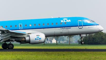 PH-EZR - KLM Cityhopper Embraer ERJ-190 (190-100)