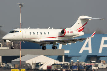 EC-LES - TAG Aviation Bombardier BD-100 Challenger 300 series