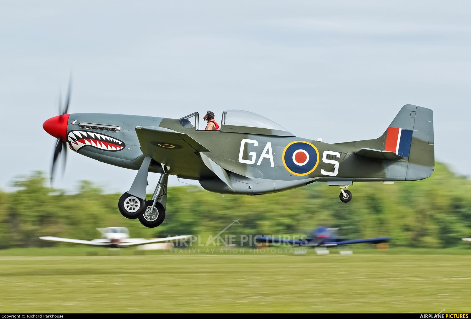 Scandinavian Historic Flight N167F aircraft at Duxford