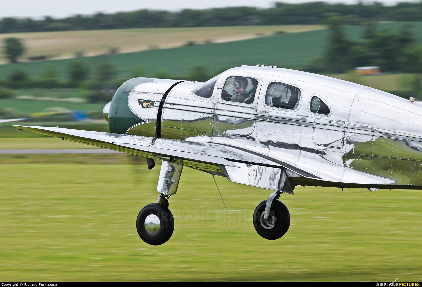 Private NC17633 aircraft at Duxford