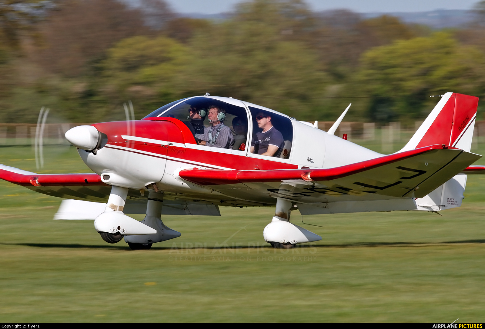 Private G-BALJ aircraft at Lashenden / Headcorn