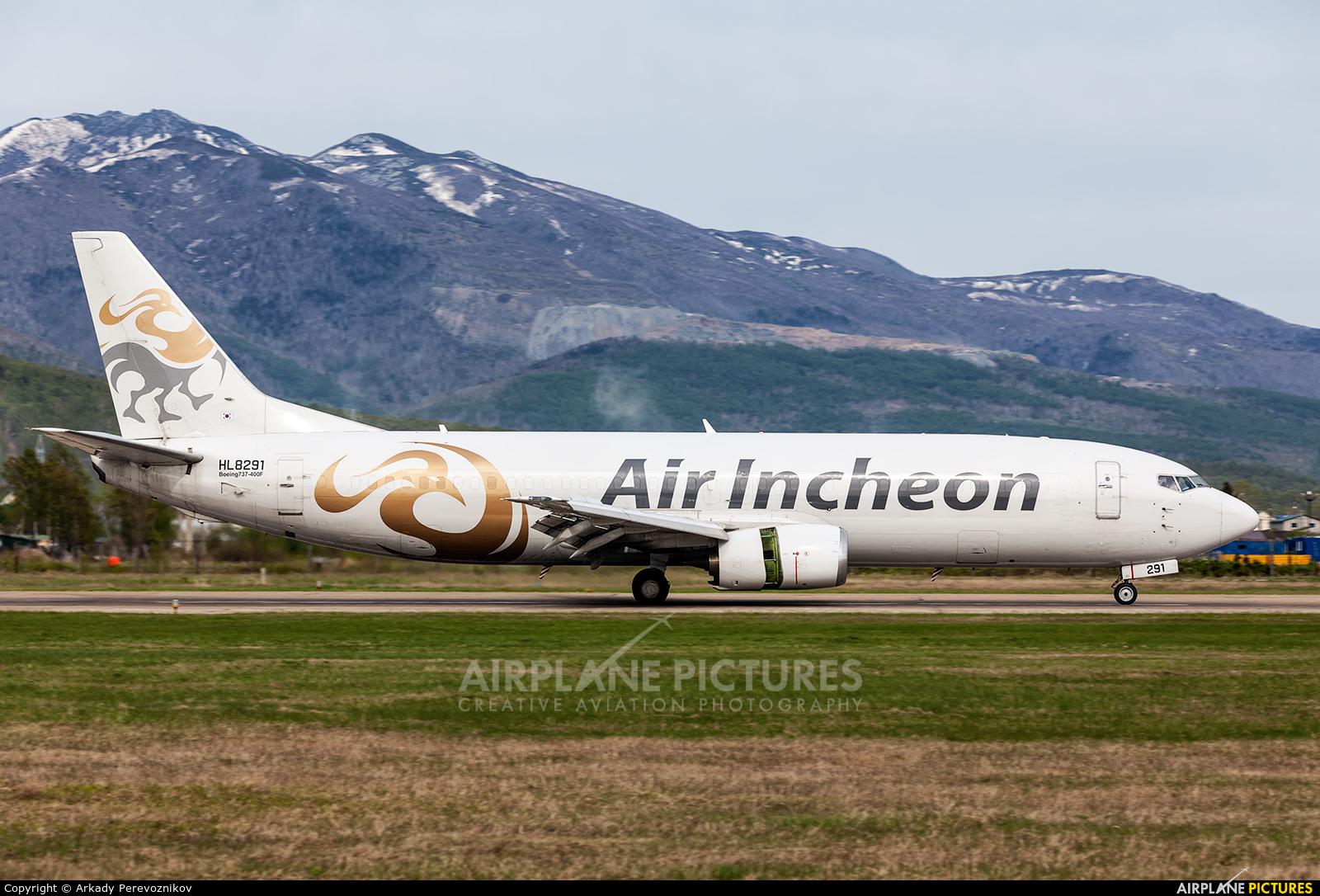 Air Incheon HL8291 aircraft at Yuzhno-Sakhalinsk