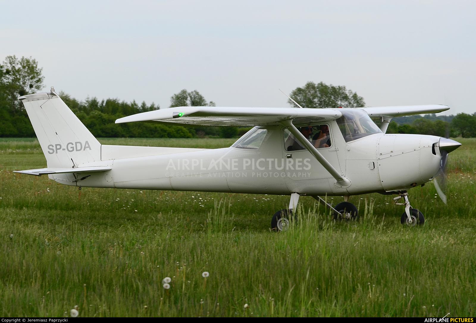 Private SP-GDA aircraft at Wrocław - Szymanów