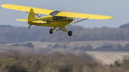 G-BJWX - Private Piper L-18 Super Cub