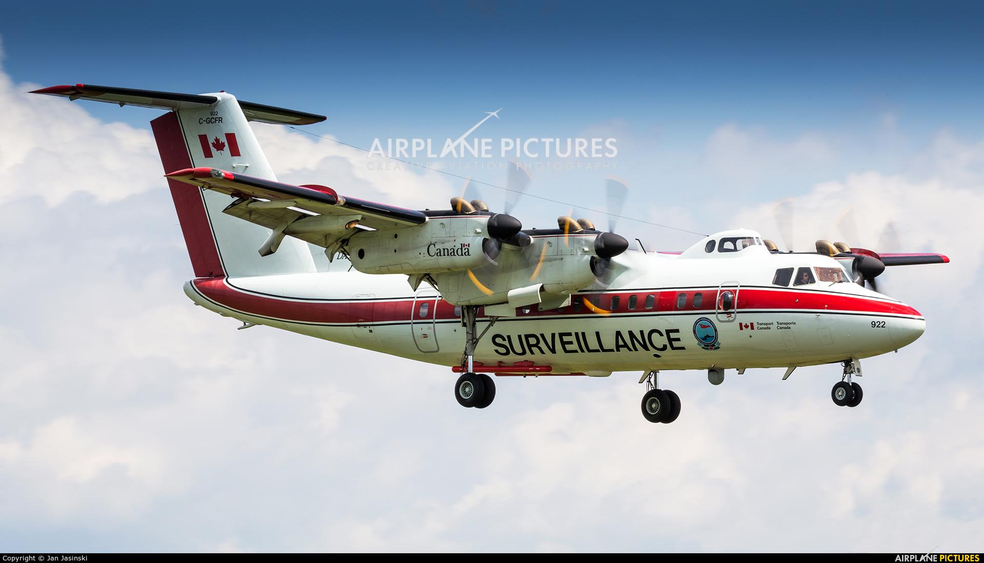 Canada - Dept of Transport C-GCFR aircraft at Ottawa - Macdonald-Cartier Intl, ON