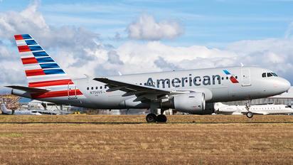 N756US - American Airlines Airbus A319