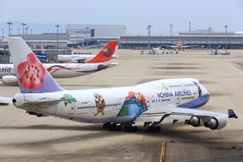 B-18203 - China Airlines Boeing 747-400