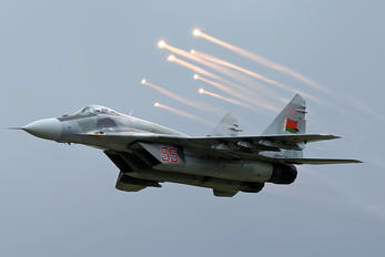 55 - Belarus - Air Force Mikoyan-Gurevich MiG-29