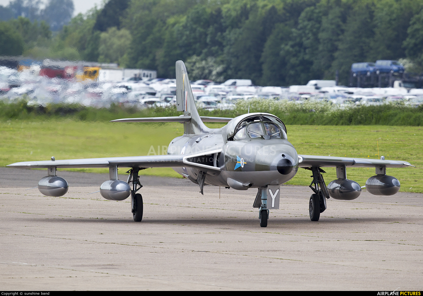 Royal Air Force XL565 aircraft at Bruntingthorpe