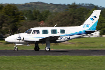 ZK-JGA - North Shore Air Piper PA-31 Navajo (all models)