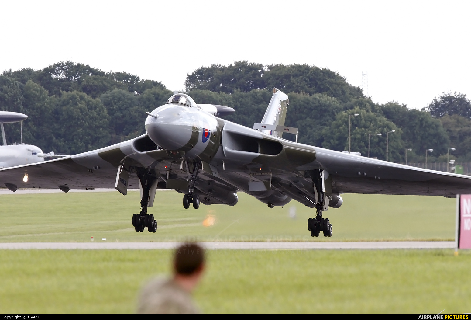 Vulcan to the Sky Trust G-VLCN aircraft at Waddington