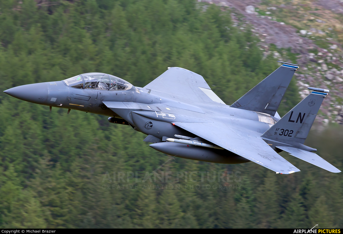 USA - Air Force 91-0302 aircraft at Bwlch Oerddrws - LFA 7