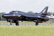 WV318 - Royal Air Force Hawker Hunter T.7 aircraft