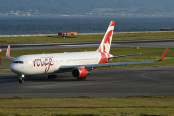 C-GHLQ - Air Canada Rouge Boeing 767-300ER