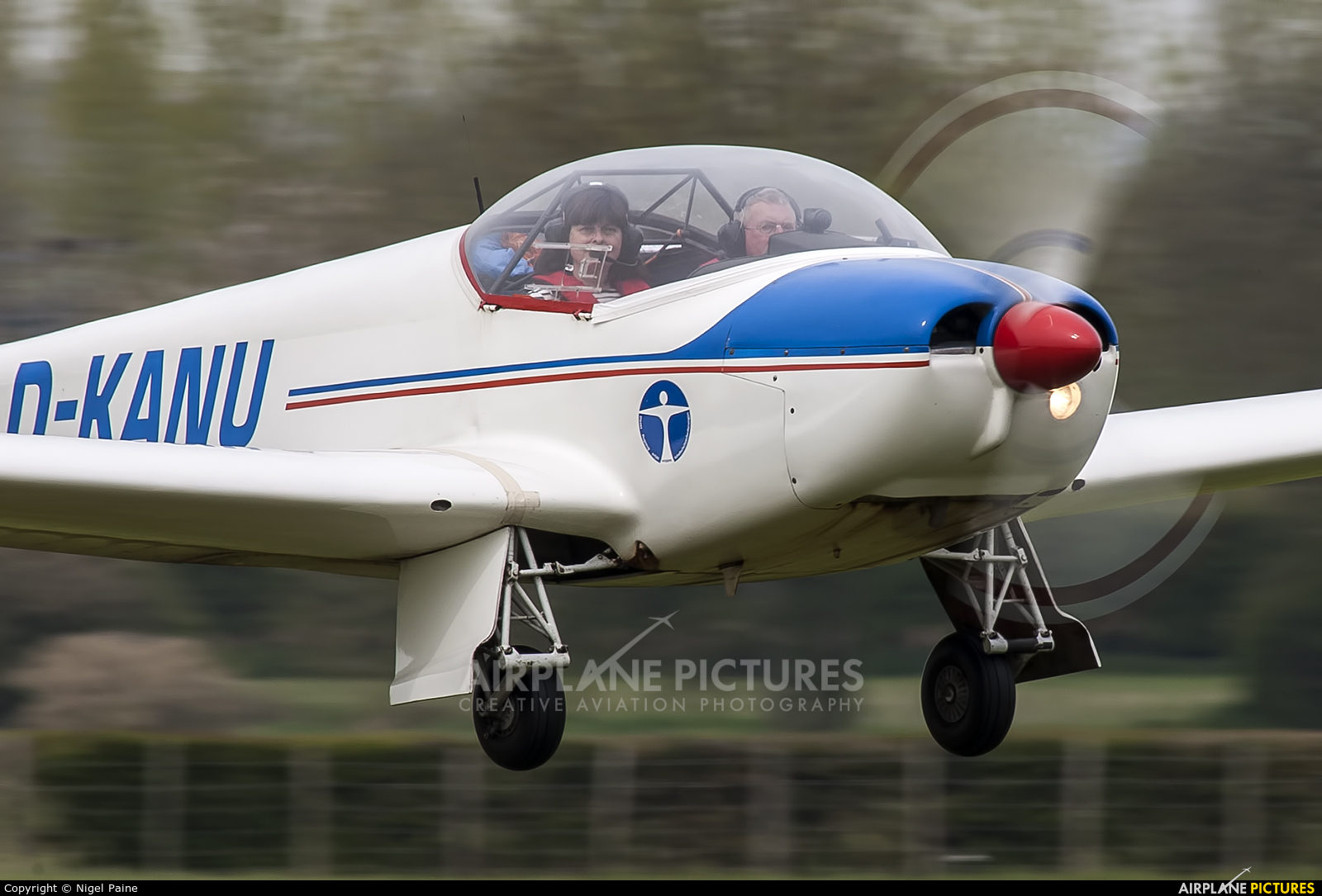 Private D-KANU aircraft at Lashenden / Headcorn