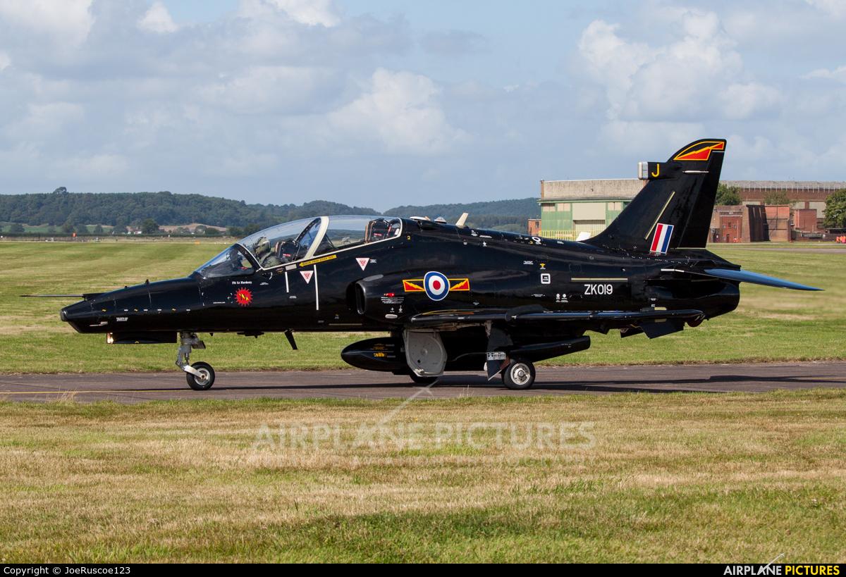 Royal Air Force ZK019 aircraft at Shawbury