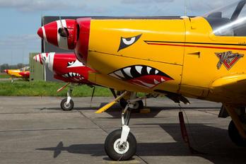 "ST-17 - Belgium - Air Force ""Hardship Red"" SIAI-Marchetti SF-260"