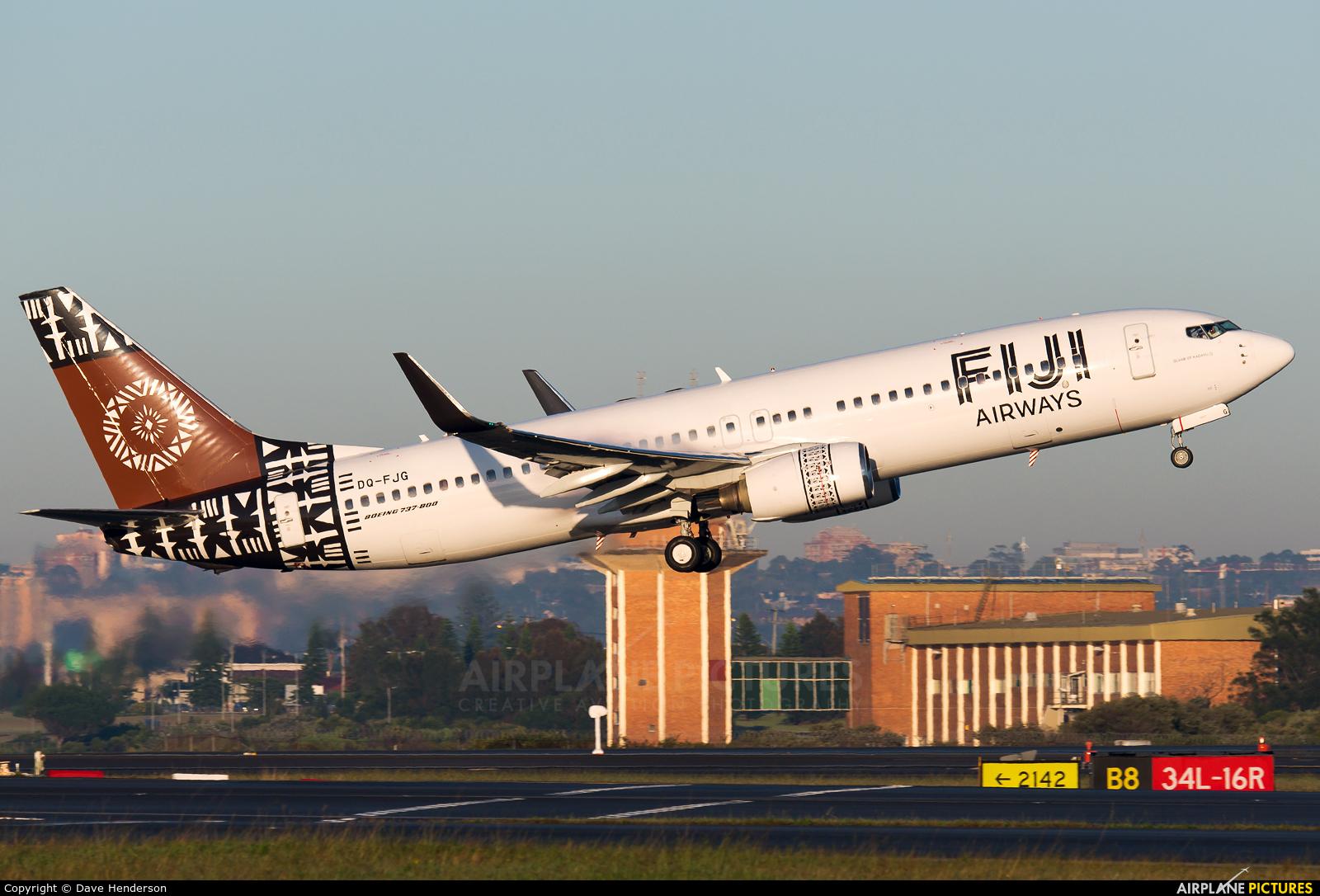 Fiji Airways DQ-FJG aircraft at Sydney - Kingsford Smith Intl, NSW