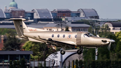 LX-JFI - Jetfly Aviation Pilatus PC-12