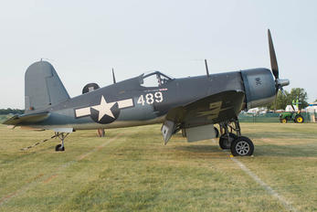 NX209TW - Private Vought F4U Corsair