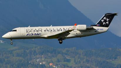 S5-AAG - Adria Airways Canadair CL-600 CRJ-200