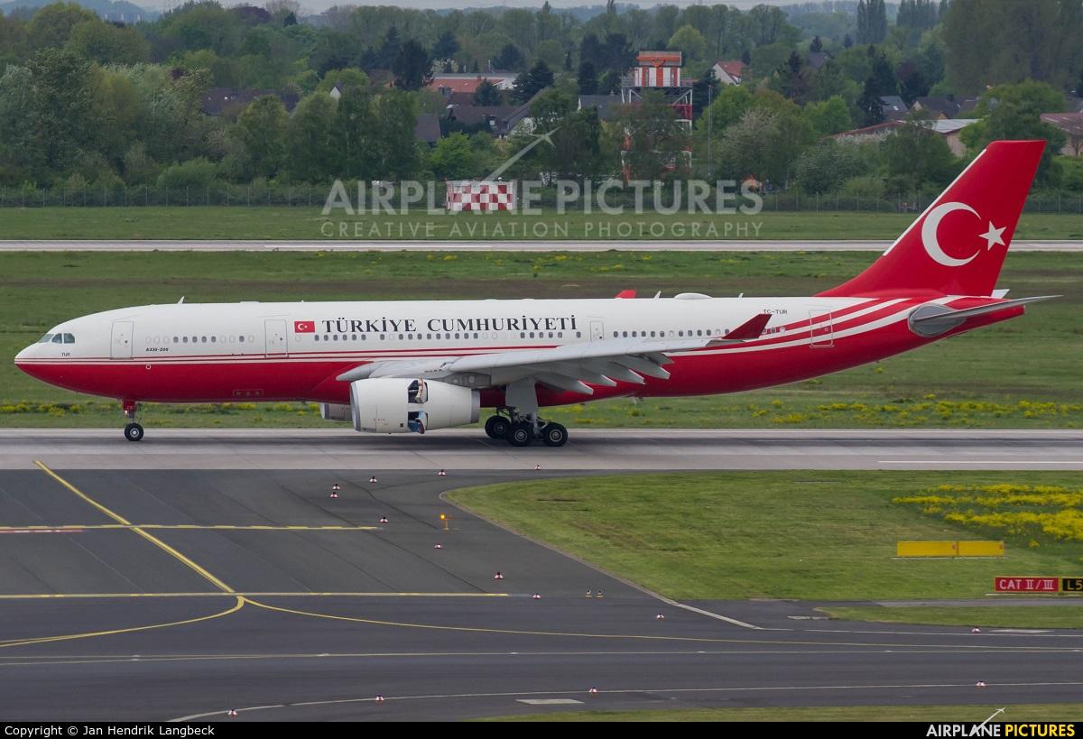 Turkey - Government TC-TUR aircraft at Düsseldorf