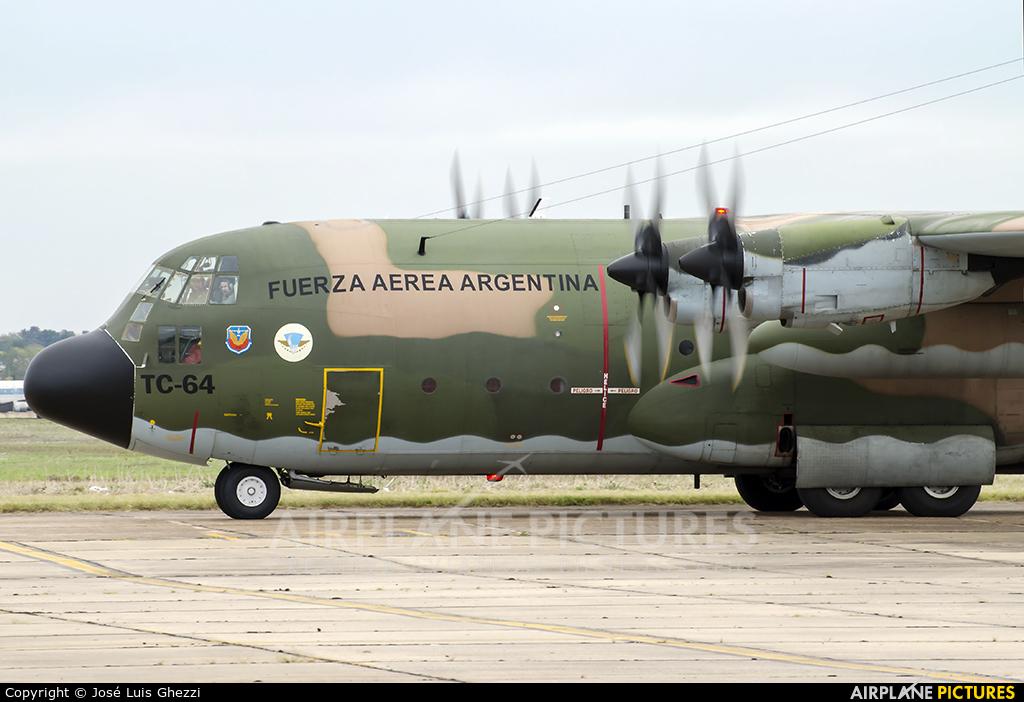 Argentina - Air Force TC-64 aircraft at El Palomar