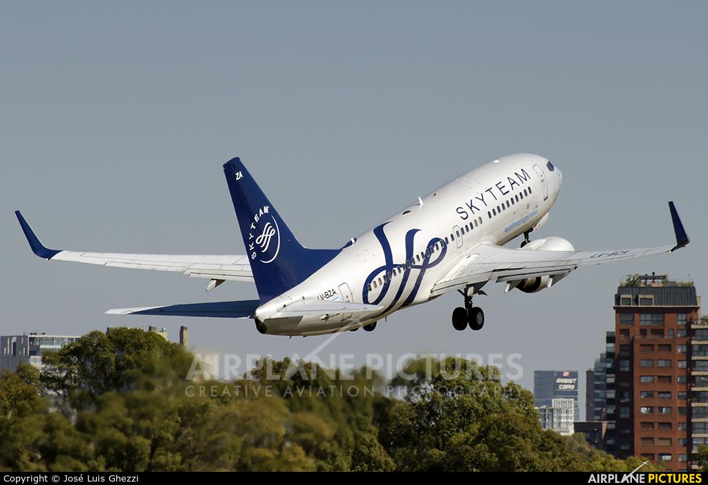 Aerolineas Argentinas LV-BZA aircraft at Buenos Aires - Jorge Newbery