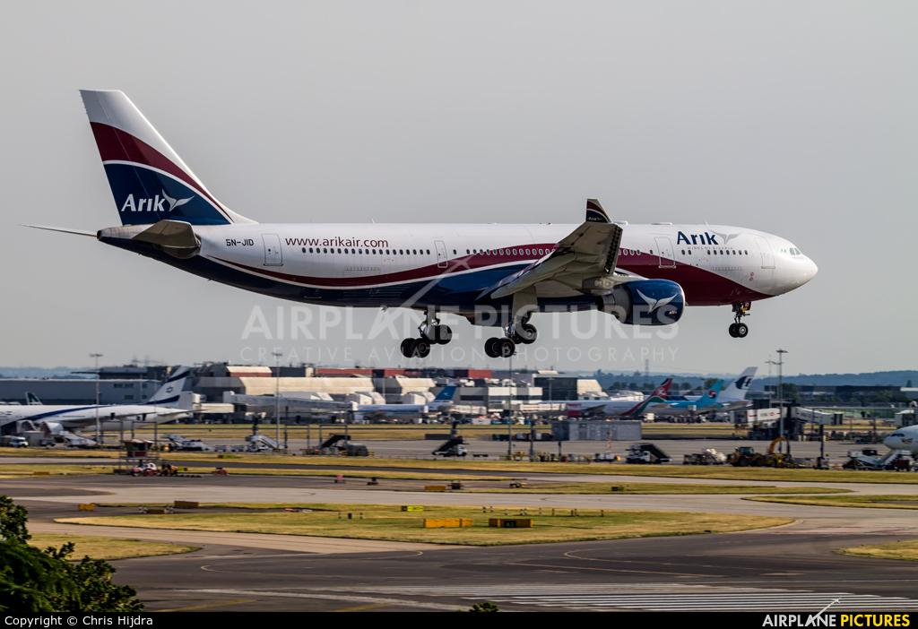 Arik Air 5N-JID aircraft at London - Heathrow