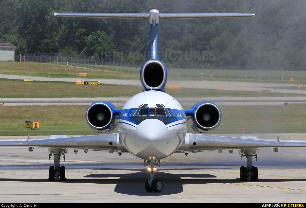 Belavia EW-85748 aircraft at Geneva Intl